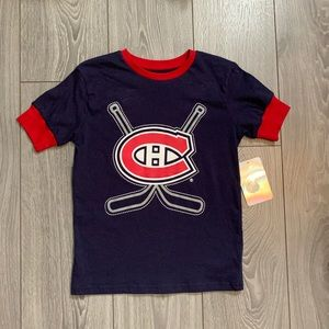 Official NHL Montreal Canadiens Kids Top - Medium